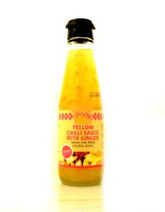 Sweet Yellow Chilli Sauce With Ginger | Buy Online at the Asian Cookshop